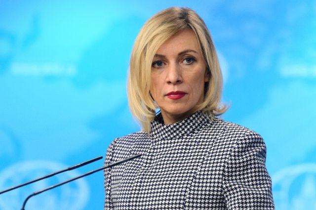 Захарова прокомментировала информацию об отмене визита Джонсона в Москву