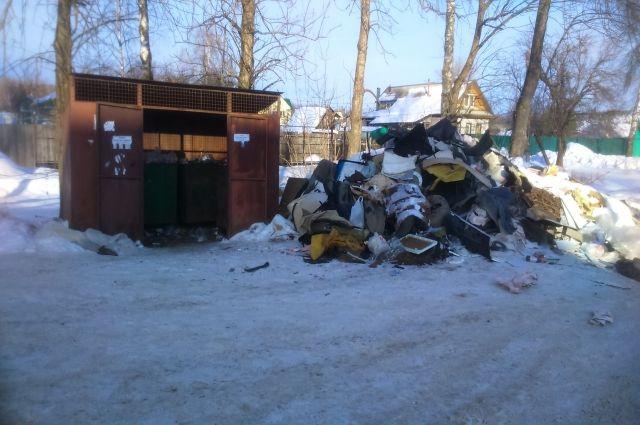 Нелегальную свалку встаром городе убрали вБелгороде