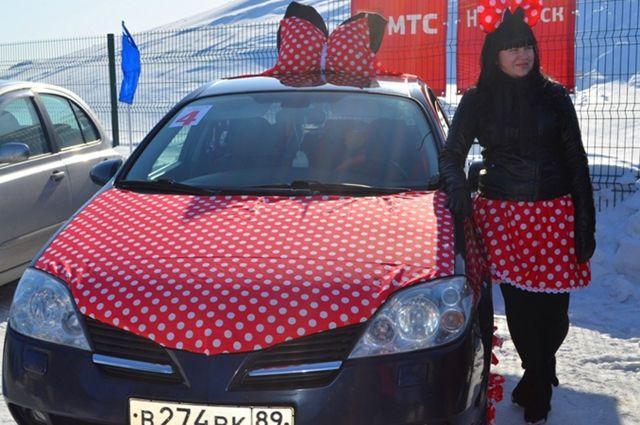 В Ноябрьске выбрали лучшую женщину-водителя.