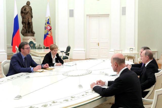 Премьер Сербии рассказал, о чем разговаривал с Путиным