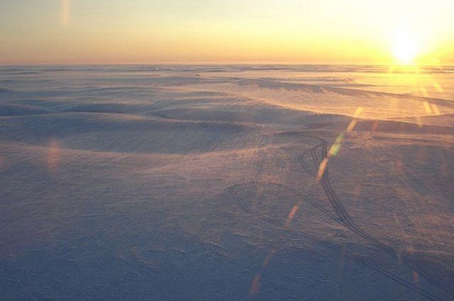 Из-за метели на Ямале закрыт один зимник.