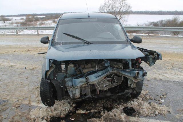 ДТП натрассе Орел-Тамбов: пострадали двое
