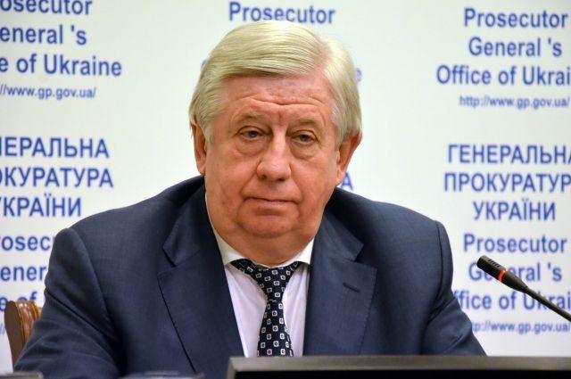 Шокин готовится восстановиться надолжности генерального прокурора