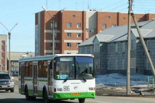 В Новом Уренгое изменится маршрут городского автобуса №7.