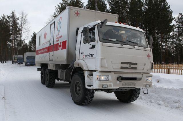 С 15 января по 25 марта по Югре ездили 11 передвижных клиник.