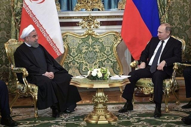 Путин обсудил с главой Ирана создание ЗТС между ЕАЭС и ИРИ