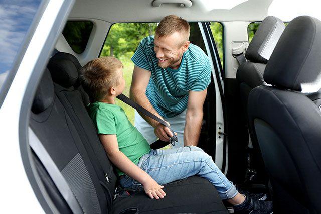 Можно ли теперь перевозить детей без автокресла?