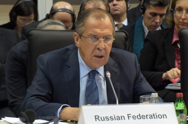 Лавров заявил, что Россия не нуждается в помощи