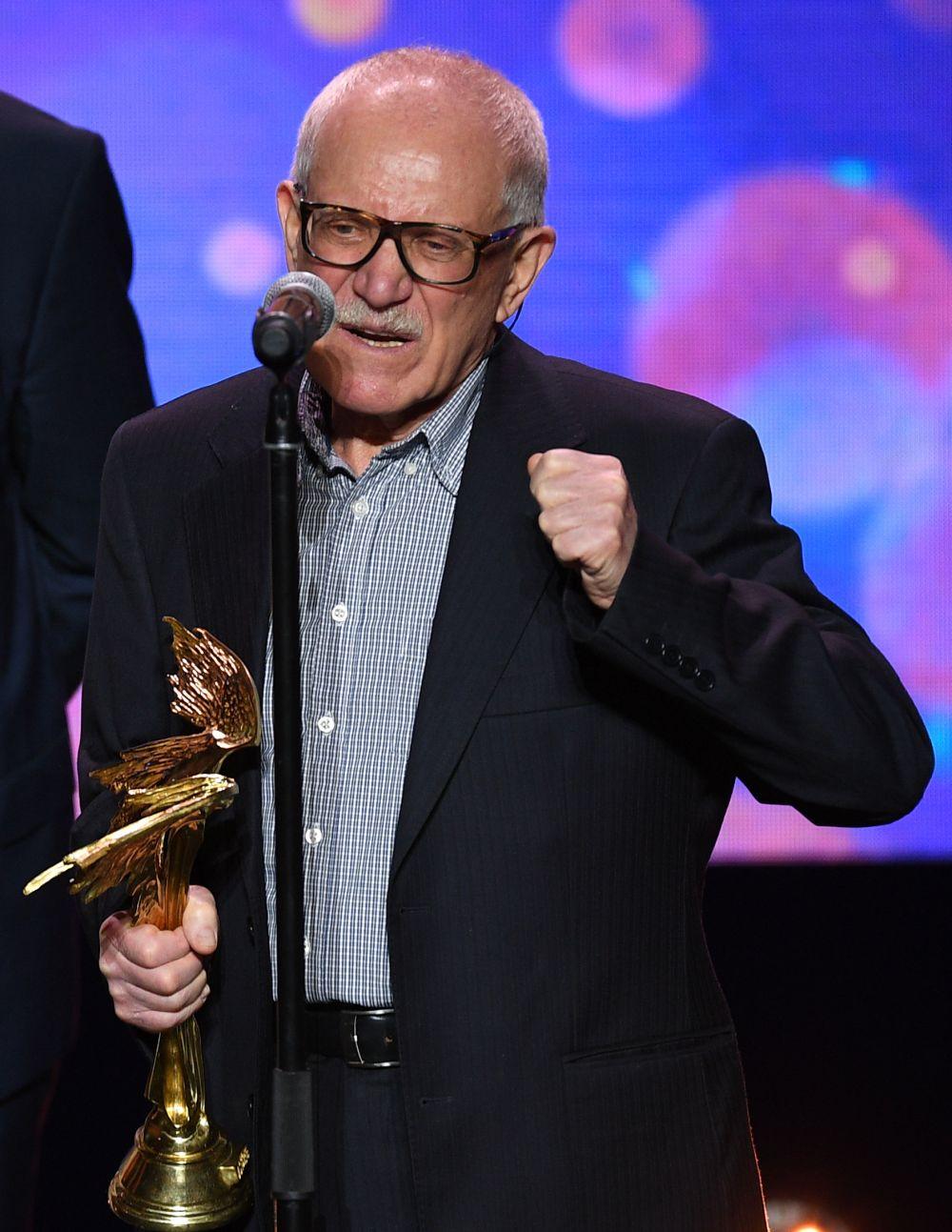 Премия имени Алексея Германа «За выдающийся вклад в отечественный кинематограф» — Александр Митта.