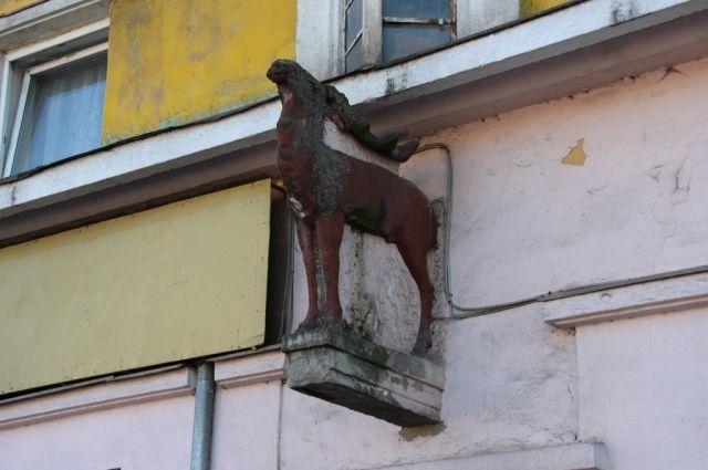 В Калининграде решили отреставрировать исторический дом с «Трубящим оленем».