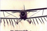 Пограничники обнаружили на границе с Молдовой самолет Ан-2 - видео
