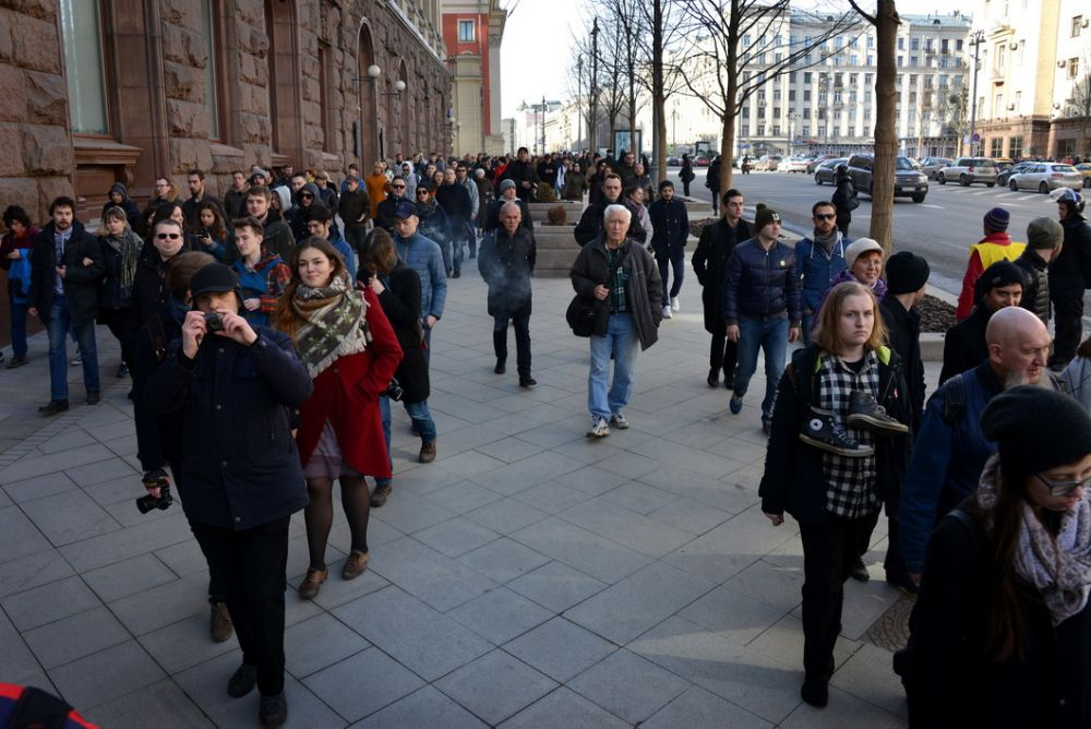 В большинстве городов митинги были согласованы со властью