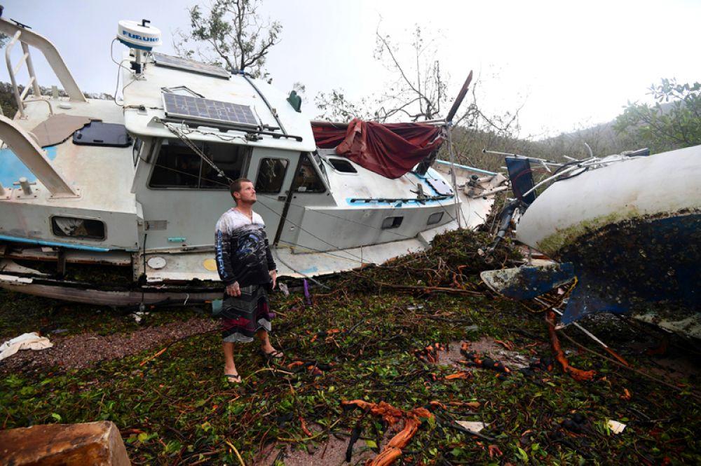 Австралийские метеорологи назвали циклон «Дебби» сильнейшим за последние шесть лет.