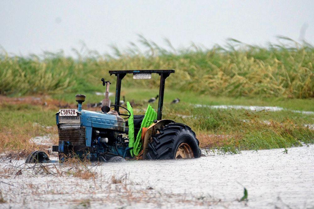 Последствия циклона «Дебби» в Австралии.