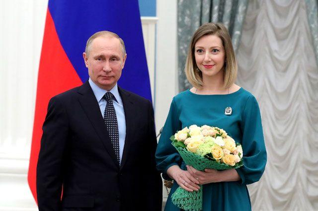 Владимир Путин поздравил ярославскую писательницу Анастасию Орлову.