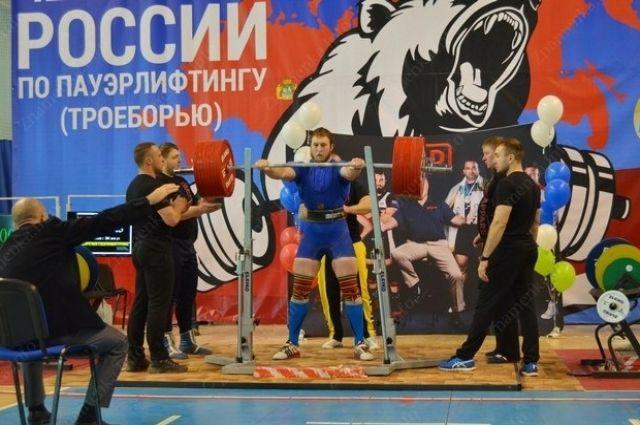 Ростовчанин установил новый рекорд РФ попауэрлифтингу
