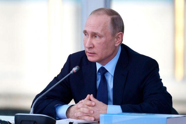 Путин примет участие в пленуме «Арктика— территория диалога»