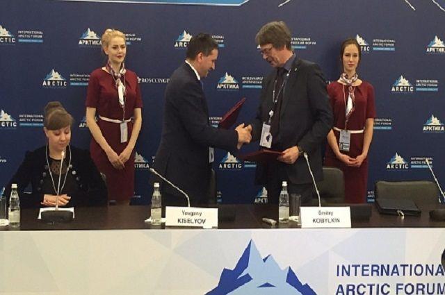 Ямал и Роснедра подписали Соглашение о передачи региону части федеральных полномочий.