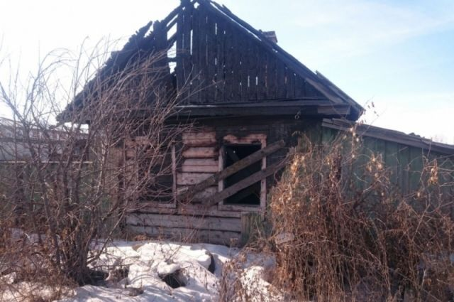 Заброшенные дома опасны.