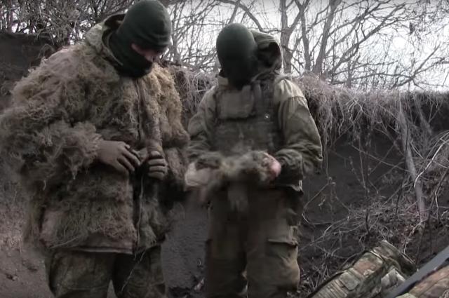 Морпехи из АТО рассказали об особенностях работы снайперской пары