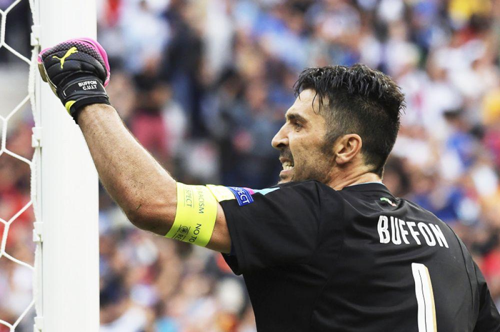 Звезда сборной Италии: Джанлуиджи Буффон.