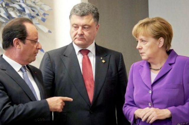 Порошенко проводит встречу сМеркель наМальте