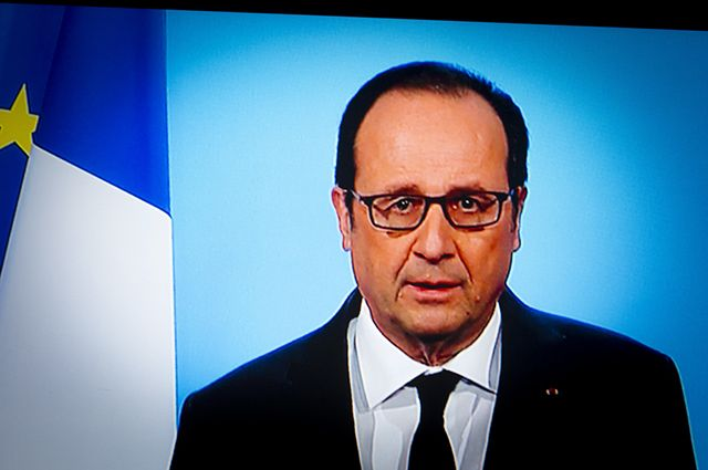 Хакеры пригласили всех желающих навечеринку послучаю отставки Олланда