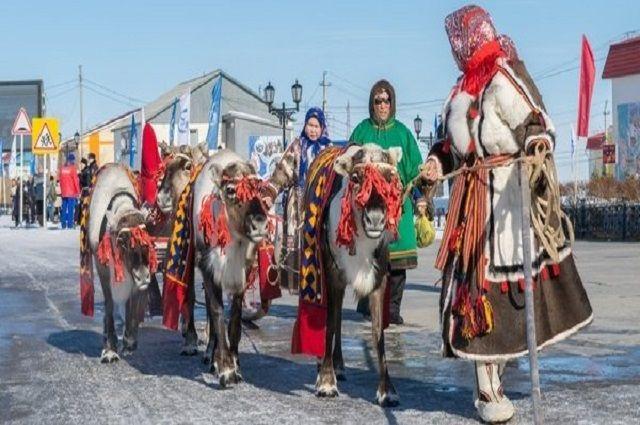 В Ямальском районе открывается  Слет оленеводов и охотников.