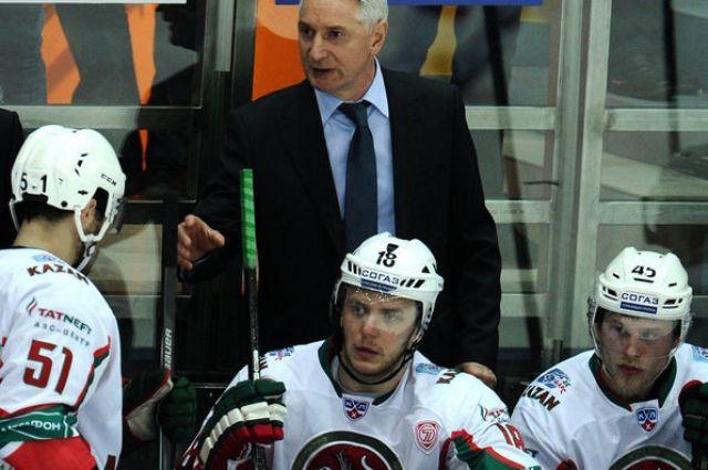 Прошлый главный тренер ЦСКА может возглавить «АкБарс»