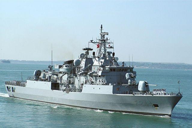 Турецкие боевые корабли зашли впорт Новороссийска