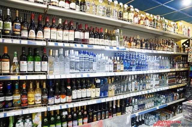 В магазине алкогольная продукция не была закрыта в ночное время.