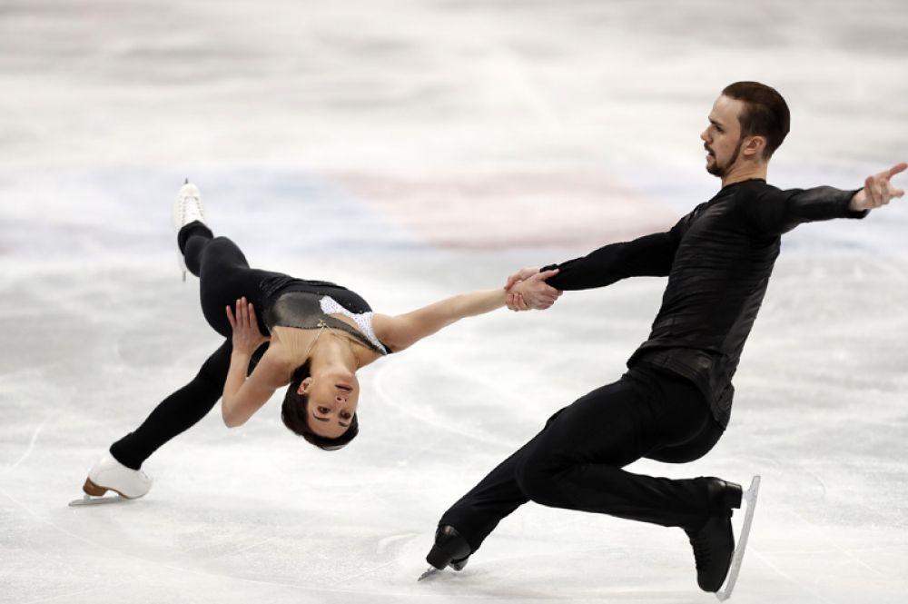 Ксения Столбова и Фёдор Климов по итогам обеих программ стали пятыми.