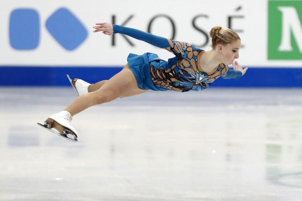 Мария Сотскова по итогам короткой программы стала шестой.