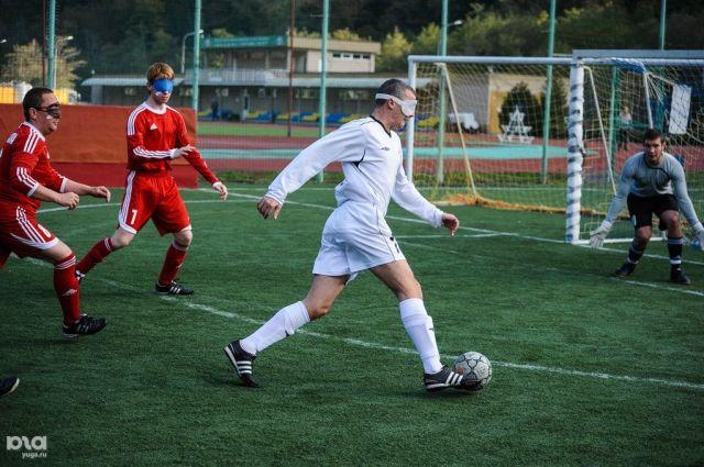 Футбол среди слепых появится вДагестане