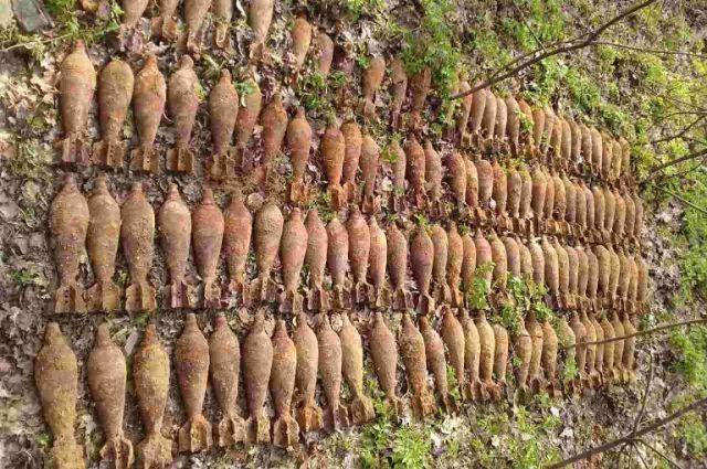 ВКиеве отыскали неменее сотни мин