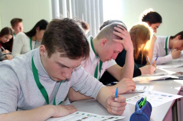 В Оренбурге школьники и студенты впервые написали экологический диктант