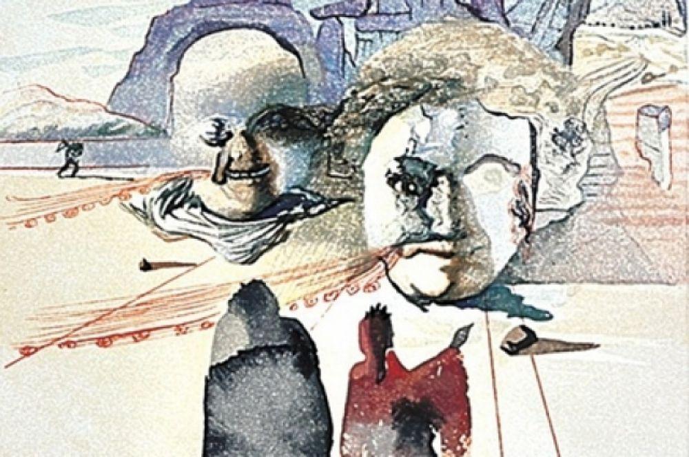 На выставке показаны все сто иллюстраций к «Божественной комедии» Данте.