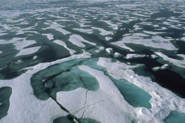Ученые поведали, почему лед вАрктике особенного цвета