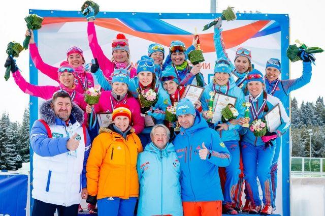 Заключительный этап Чемпионата России по лыжным гонкам 2017 в Ханты-Мансийске.