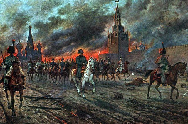 Отступление французской армии. Виктор Мазуровский.