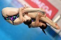 Надежда Бажина вместе с Кристиной Ильиных завоевала серебро.
