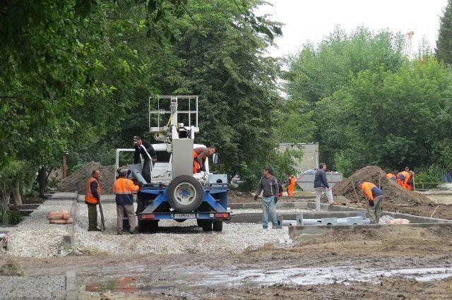 Основные работы по благоустройству города развернутся летом