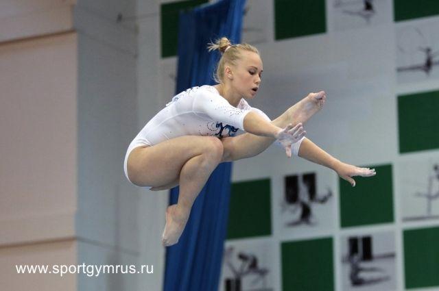 Воронежская гимнастка завоевала 2 бронзовые медали намеждународном турнире вИталии