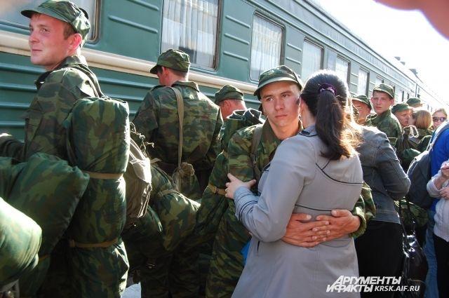 Учащиеся красноярских училищ получили отсрочку отслужбы вармии