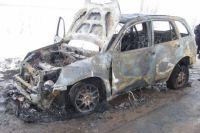 В Первомайском районе на дороге загорелся «ВАЗ»