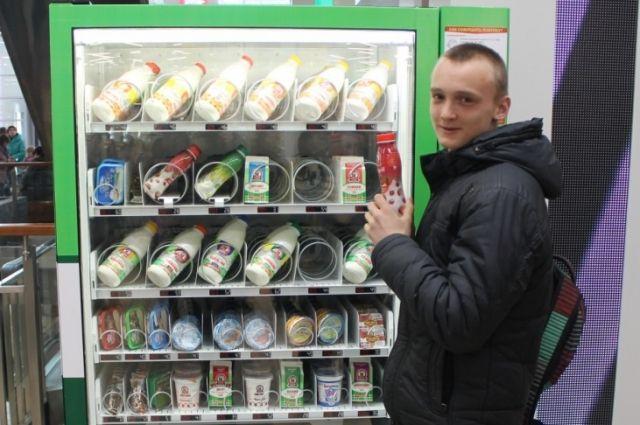 ВБарнауле появились «молочные автоматы»