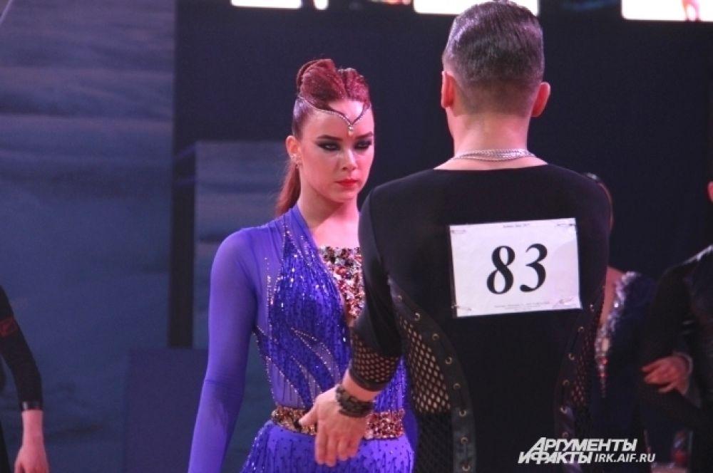 Пара под номером 83 стала победителем в латинской программе фестиваля.