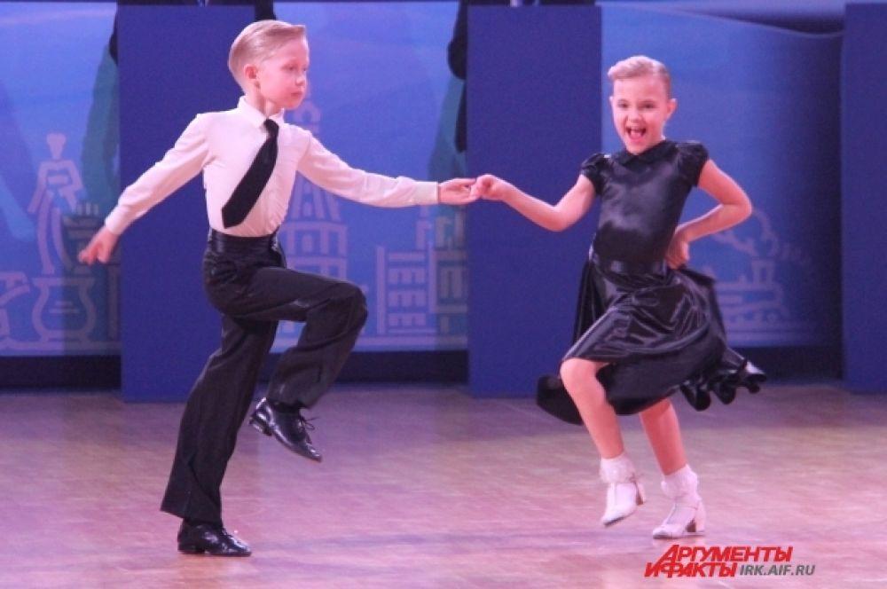 Самые юные танцоры срывали «взрослые» овации.