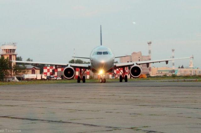 Ваэропорту Челябинска практически на18 часов схвачен рейс «Аэрофлота» в столицу