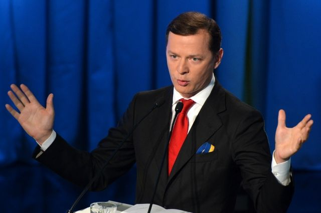 Ляшко сравнил Порошенко с«синьором Помидором»